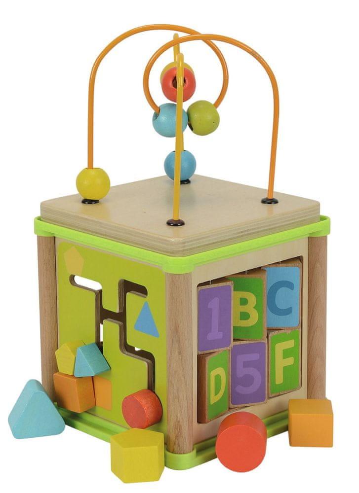 Simba Multifunkční kostka dřevěná