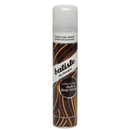 Batiste Suchy szampon do ciemnych włosów (Dry Shampoo Plus Divine ciemny) (objętość 200 ml)