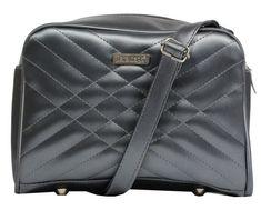 Dara bags Stříbrná kabelka Miss Kiss no.38