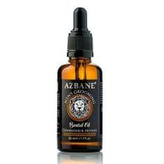 Azbane Pečující olej na vousy s arganovým olejem Cedrové dřevo a muškátový oříšek (Beard Oil) 30 ml