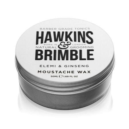 Hawkins & Brimble Stylizacji wosk wąsy zapachowy elemi i żeńszeń (Ginseng elemi i wąsy wosk) 50 ml