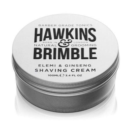 Hawkins & Brimble Hydratačný krém na holenie s vôňou elemi a ženšenu (Elemi & Ginseng Shaving Cream) 100 ml