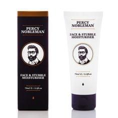 Percy Nobleman Hidratáló krém arc és arcszőrzet ápolására(Face & Stubble Moisturizer) 75 ml