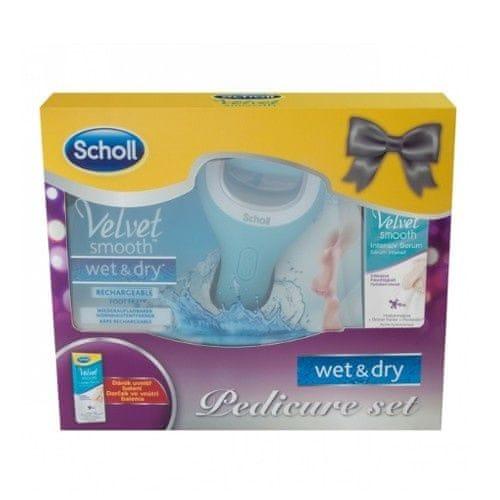 Scholl Dárková sada péče o nohy s intenzivním sérem Wet & Dry