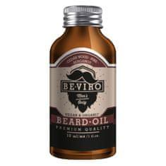 Be-Viro Pečující olej na vousy s vůní cedru, bergamotu a borovice (Beard Oil)