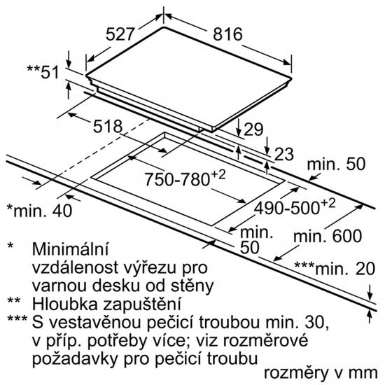 Bosch indukční deska PXY875KW1E
