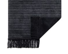 Ibena Černá deka Jacquard Messina 3749/870