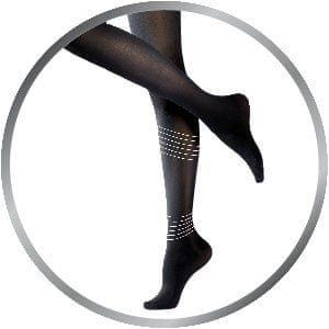 Kompresní punčochové kalhoty černé 60 Den Light LEGS™ (Varianta M) 82213dda41