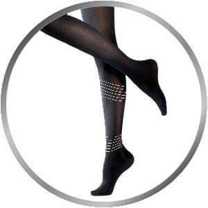Scholl Kompresné pančuchové nohavice čierne 60 Deň Light LEGS ™