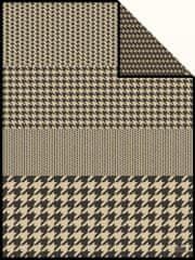 Ibena Vzorovaná deka Jacquard Edinburgh 2108/830
