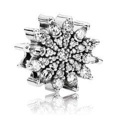 Pandora Fényes csillogó korall 791764CZ ezüst 925/1000