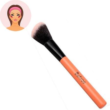 Sefiros Pastell ferde pirosító ecset (Blush Brush Pastell)