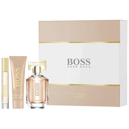 Hugo Boss Boss The Scent For Her - woda perfumowana 50 ml + woda perfumowana 7,4 ml + mleczko do ciała 50 ml