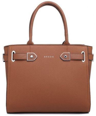 Bessie London ženska torbica Reese, rjava