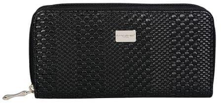 David Jones Dámska peňaženka Black P055-510