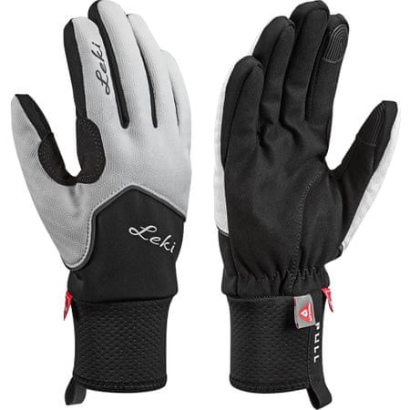 Leki rokavice Nordic Thermo Lady White-Black-Charcoal, 6,5