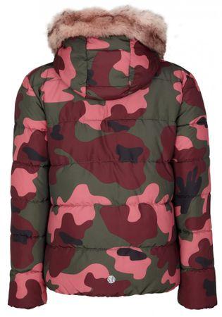 s.Oliver Dívčí prošívaná zimní bunda maskáč S růžová zelená ... 699286c44e