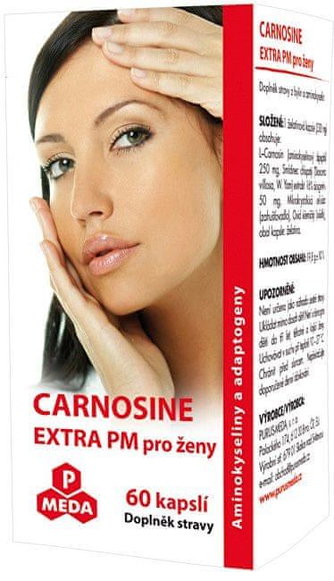Purus Meda Carnosine Extra PM pro ženy 60 kapslí