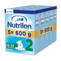 Nutrilon 2 - 5 x 600g