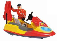 SIMBA figurka - strażak Sam i skuter wodny Juno