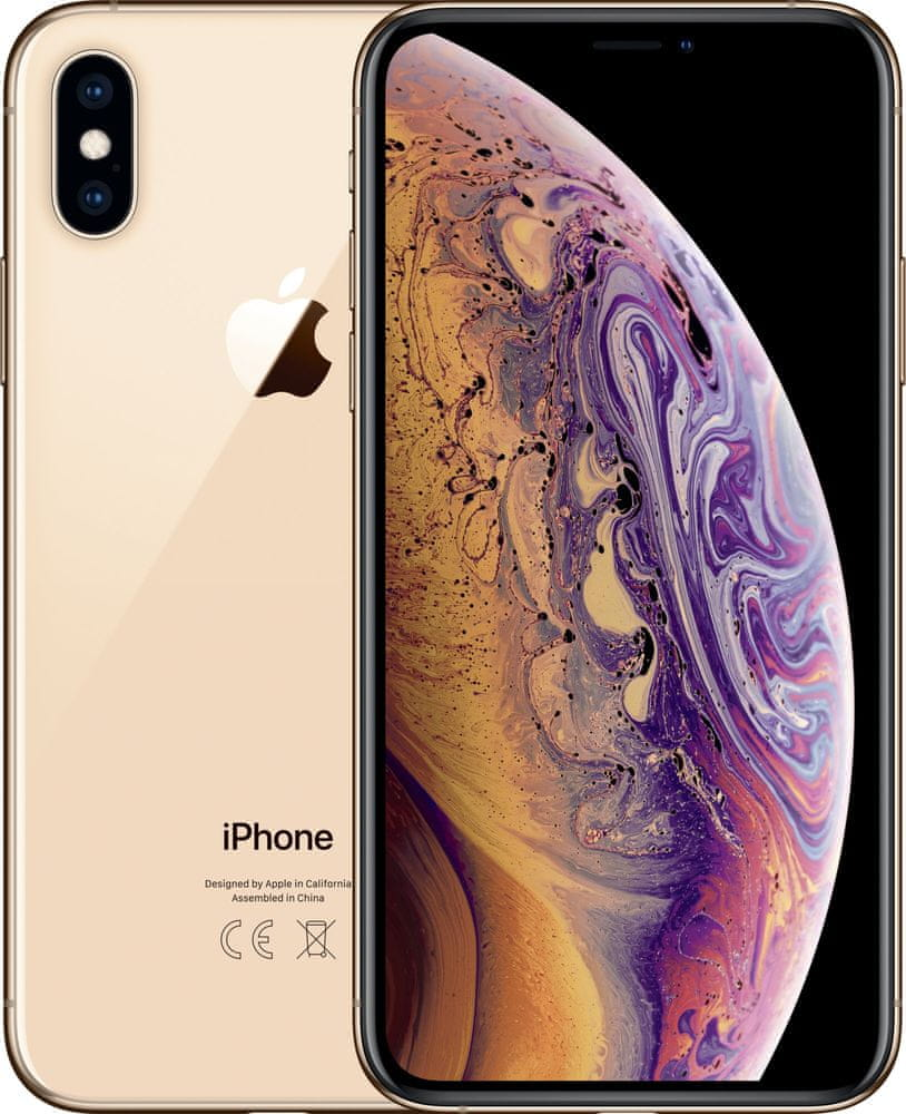 Apple iPhone Xs Max, 256GB, Zlatý