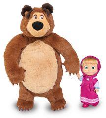 Simba Máša a medvěd Set Míša a panenka Máša