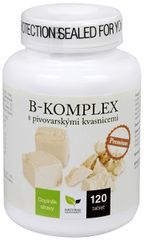 Natural Medicaments B-komplex s pivovarskými kvasnicemi Premium 120 tbl.