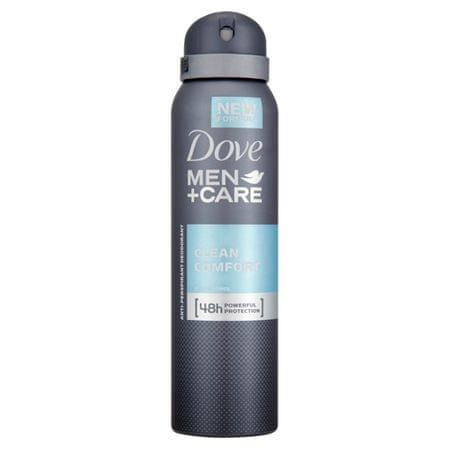 Dove Antiperspirant v spreji Men + Care Clean Comfort 150 ml