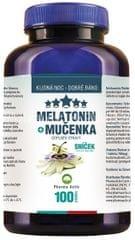 Pharma Activ Melatonin Mučenka 100 tbl. + meduňka čaj ZDARMA