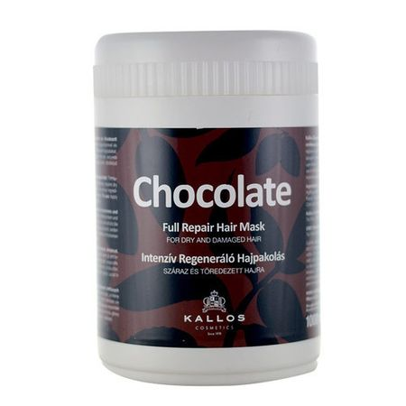 Kallos Intenzivně regenerační maska Chocolate (Chocolate Full Repair Hair Mask) (Objem 275 ml)