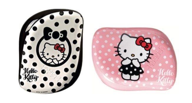 Tangle Teezer Profesionální kartáč na vlasy Tangle Teezer Hello Kitty (Compact Styler) růžový