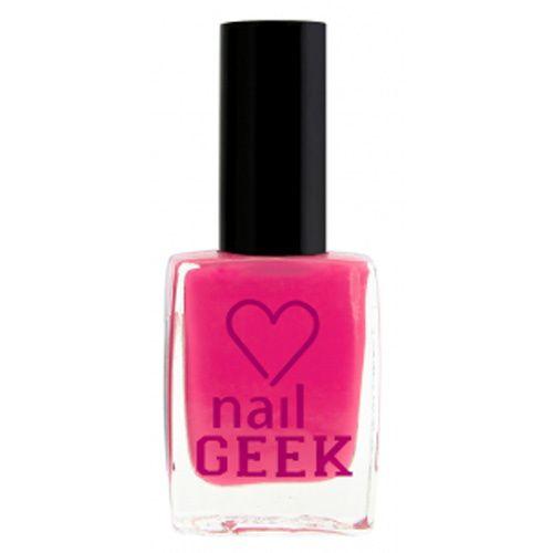 Makeup Revolution Lak na nehty I LOVE MAKEUP (Nail Geek) 12 ml Cheeky Pink