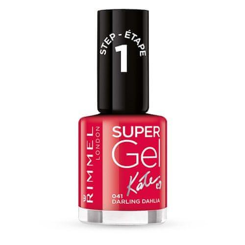 Rimmel Gelový lak na nehty Super Gel (Nail Polish) 12 ml 024 Red Ginger