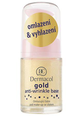 Dermacol Omladzujúci báza pod make-up so zlatom (Gold Anti-Wrinkle Base) 15 ml