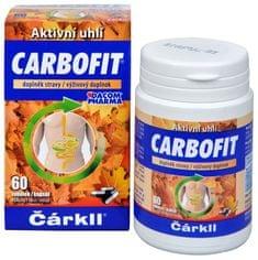 Dacom Pharma Carbofit - aktivované rastlinné uhlie 60 tob