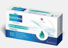 Herb Pharma Gyntima Probiotica vaginální čípky 10 ks