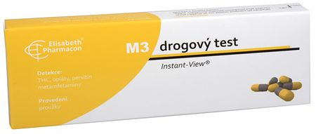 Drogový test M-3 Multipanel Instant-View 1 ks