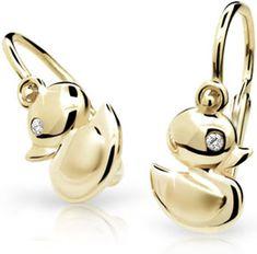 Cutie Jewellery Dětské náušnice C1954-10-10-X-1 zlato žluté 585/1000