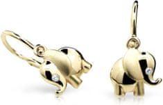 Cutie Jewellery Dětské náušnice C1955-10-10-X-1 zlato žluté 585/1000