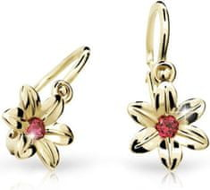 Cutie Jewellery Dětské náušnice C1993-10-X-1 zlato žluté 585/1000
