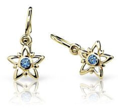 Cutie Jewellery Dětské náušnice C1996-10-X-1 zlato žluté 585/1000