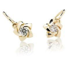 Cutie Jewellery Dětské náušnice C2201-10 zlato žluté 585/1000