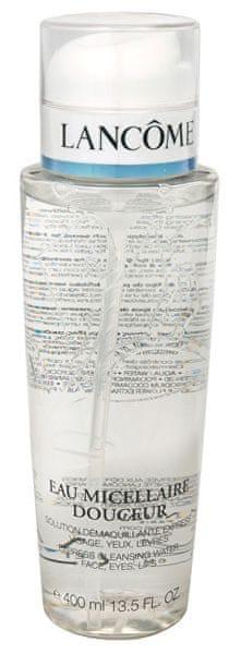 Lancome Odličovací micelární voda na obličej, oči a rty (Eau Micellaire Douceur) 400 ml