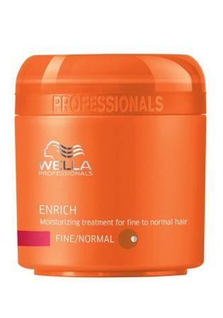 Wella Professional Hydratačná maska pre jemné až normálne vlasy Enrich (Moisturizing Treatment For Fine / Normal Hair