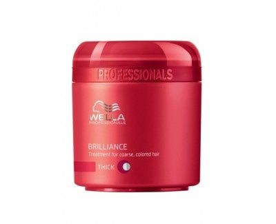 Wella Professional Tusz do rzęs dla silnego, kolorowego Brilliance włosów (Treatment For Coarse Colored Hair ) (objętoś