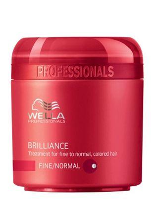 Wella Professional Maska do włosów do normalnego porządku barwionej Brilliance (Leczenie Wysoka / Normalna włosów farbo