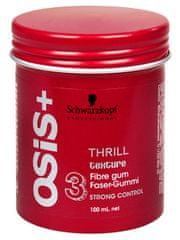 Schwarzkopf Prof. Vláknitá lesklá strukturující guma Thrill 100 ml