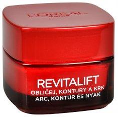 L'Oréal Zpevňující protivráskový krém na obličej a krk Revitalift 50 ml