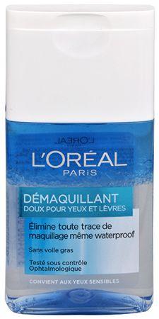 L'Oréal Dvojfázový odličovač očí a pier (Gentle Make-Up Remover for Eyes & Lips) 125 ml