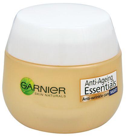 Garnier Multiaktívny nočný krém proti vráskam Essential s 35+ ( Anti-Wrinkle Care Night) 50 ml